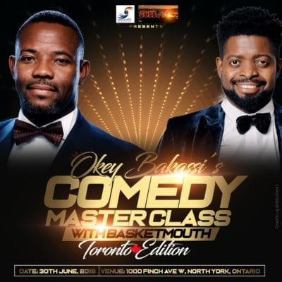 Comedy Master Class with Okey Bakassi Toronto Edition